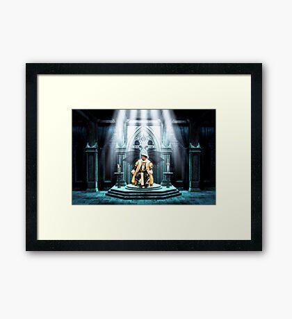 King Arthur and the Holy Grail Framed Print