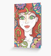 freckle Fairy Greeting Card