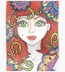 freckle Fairy Poster