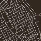 Fredericksburg City Grid by PONSHOP
