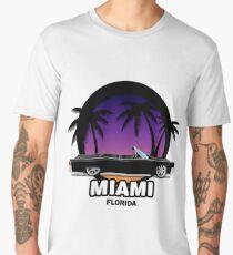 Miami muscle car Men's Premium T-Shirt