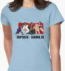 SPICE UP YOUR COUCH Womens Fitted T-Shirt
