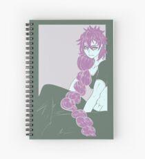 Judar in Purple Spiral Notebook