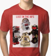 LOST IN THE 80'S Tri-blend T-Shirt