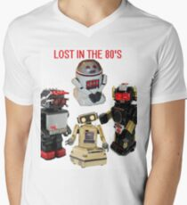 LOST IN THE 80'S Men's V-Neck T-Shirt