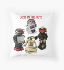 LOST IN THE 80'S Throw Pillow