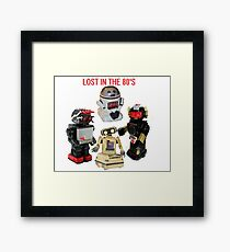 LOST IN THE 80'S Framed Print
