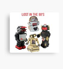 LOST IN THE 80'S Metal Print