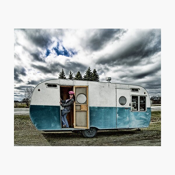 Queen Of The Trailer Park Photographic Print