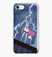 Eyehole Man - The Animated Series (parody) iPhone Case/Skin