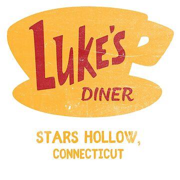 Luke's Diner Vintage by erinhopkins