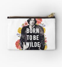 born to be wilde Zipper Pouch