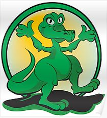 Reptile Rock Poster