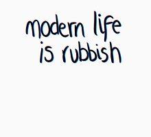 Modern life is rubbish Long Sleeve T-Shirt