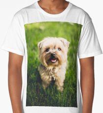Happy Puppy Long T-Shirt