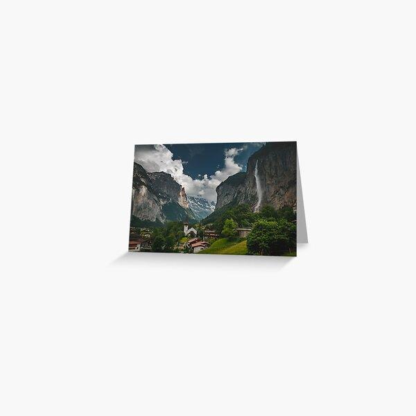 Lauterbrunnen Valley Greeting Card