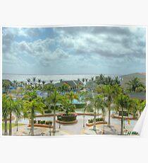 St Kitts Marriott on Frigate Bay Poster