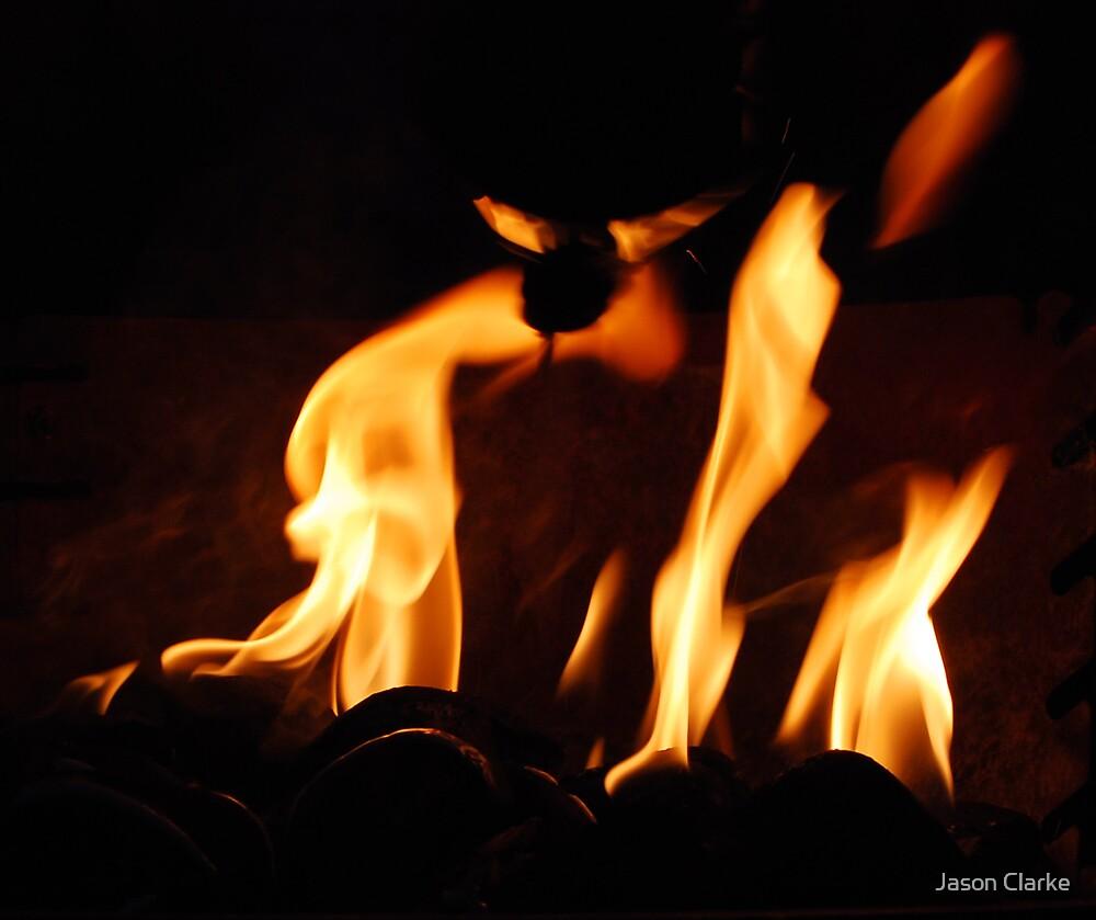 Eyes in the Fire by Jason Clarke