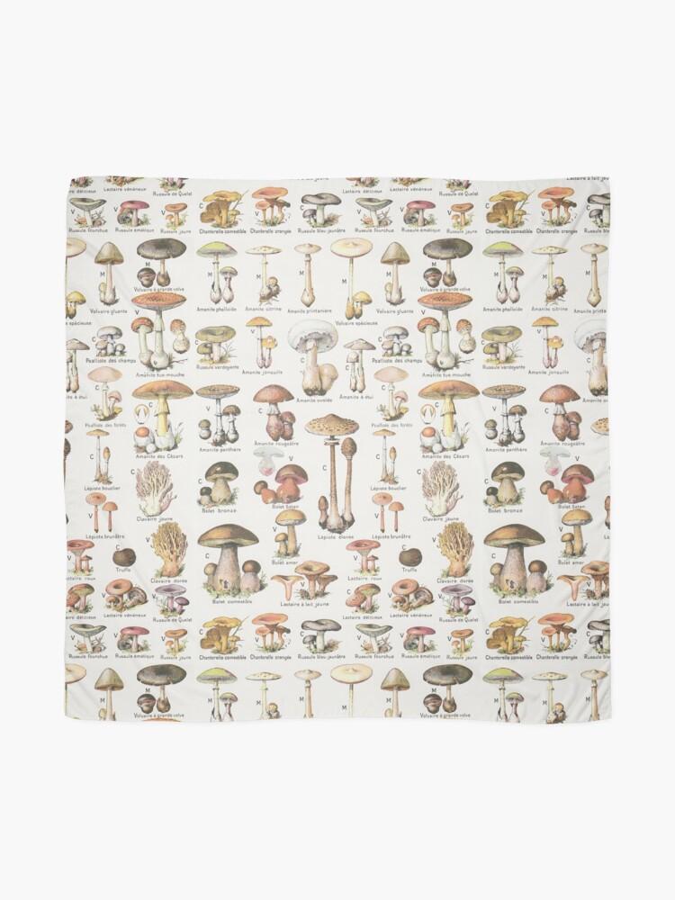 Alternate view of Mushrooms Scarf