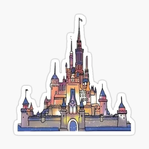 Castle  Sticker