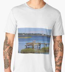 Beauty At The Dock Men's Premium T-Shirt