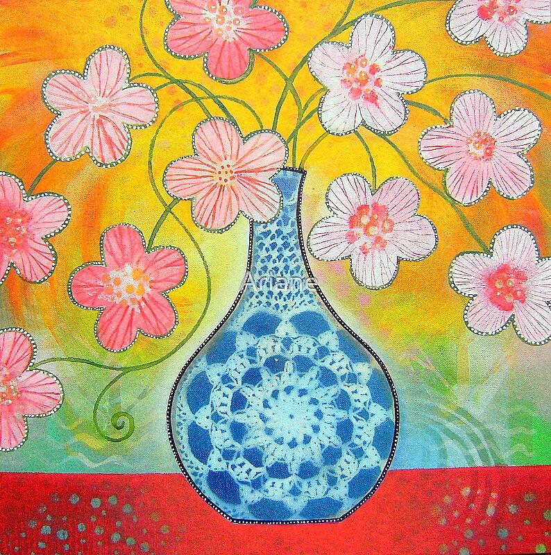 """WILD HIBISCUS"" by Ariane"