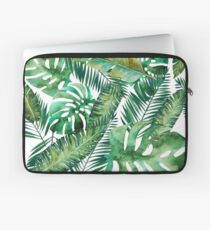 Monstera Banana Palm Leaf Laptop Sleeve