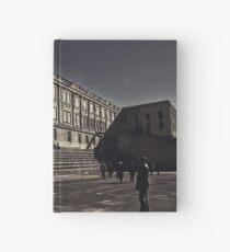 Alcatraz Prison (Black And White)   Hardcover Journal