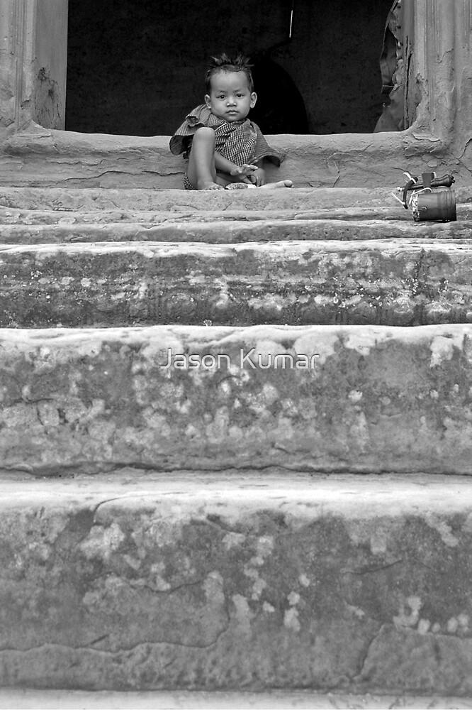 temple child by Jason Kumar