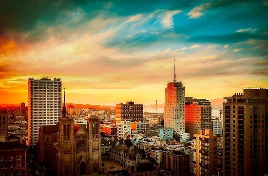San Francisco City Skyline   by prodesigner2