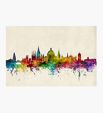 Oxford England Skyline Photographic Print