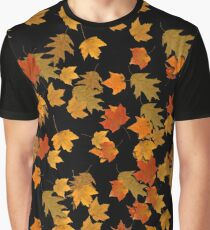 Leaf Pattern Graphic T-Shirt