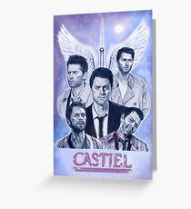 Castiel | Supernatural Greeting Card