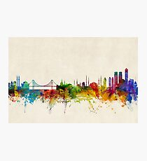 Istanbul Turkey Skyline Photographic Print