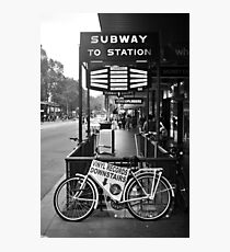 FLINDERS SUBWAY Photographic Print