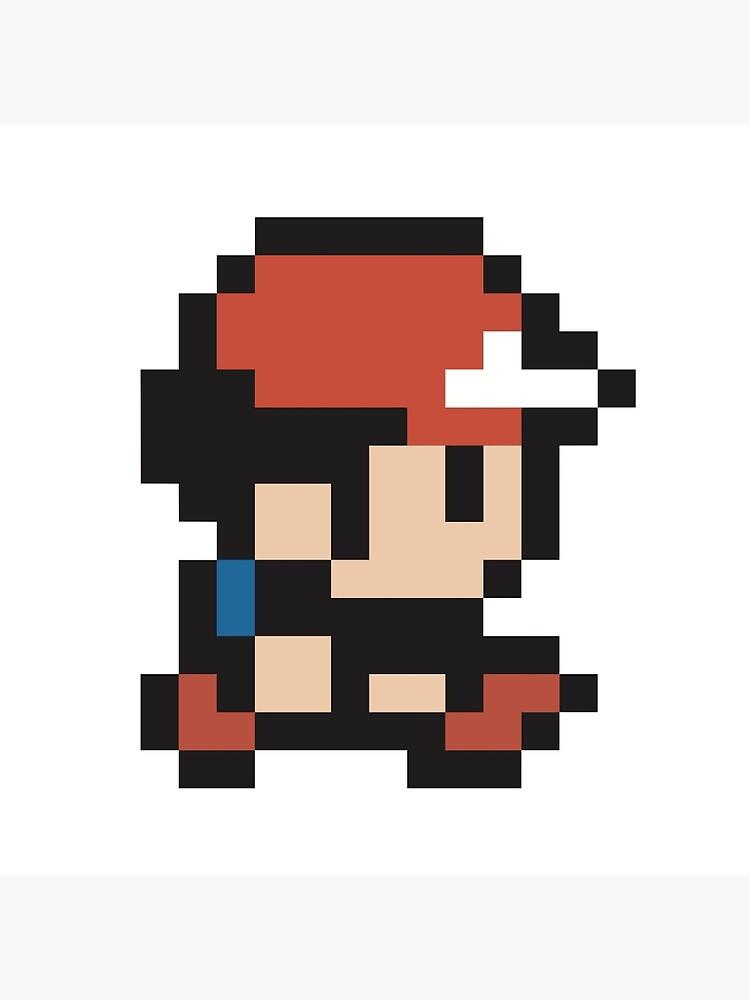 Ash Ketchum Pokemon Pixel Tote Bag