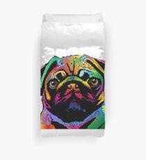 Pug Dog Duvet Cover