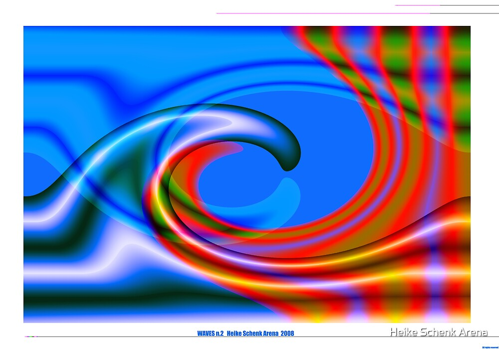 Waves 2 by Heike Schenk Arena
