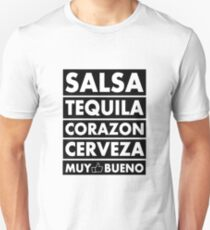 Salsa Tequila Corazon.. T-Shirt