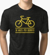 38 Miles Per Burrito Tri-blend T-Shirt