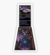 3D Pinball Space Cadet (Full Tilt! Pinball) Sticker
