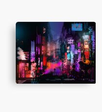 Unleashed at Night Canvas Print