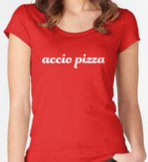 Accio Pizza Fitted Scoop T-Shirt