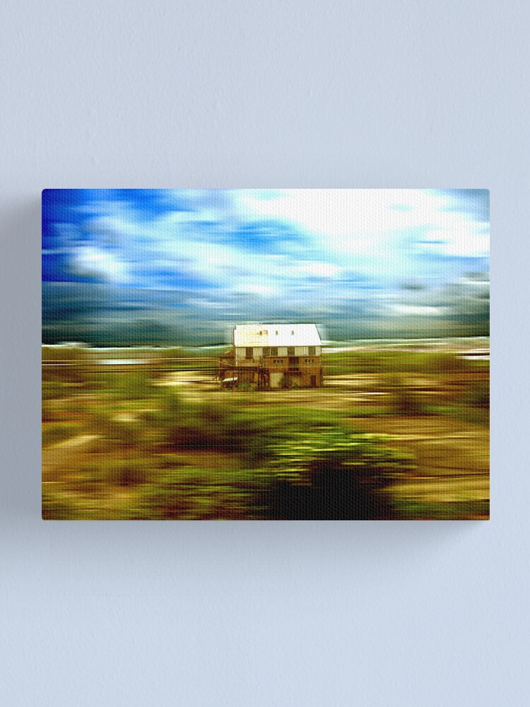 Alternate view of Time Frozen in a Train of Thought Canvas Print