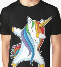 Dabbing Unicorn Shirt Cute Funny Unicorns T shirt Gifts for Kids Girls Boys Women Men Graphic T-Shirt