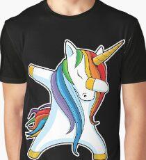 Unicorn Dabbing - Dab Dance Tshirt Graphic T-Shirt