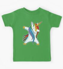 Unicorn Dabbing - Dab Dance Tshirt Kids Clothes