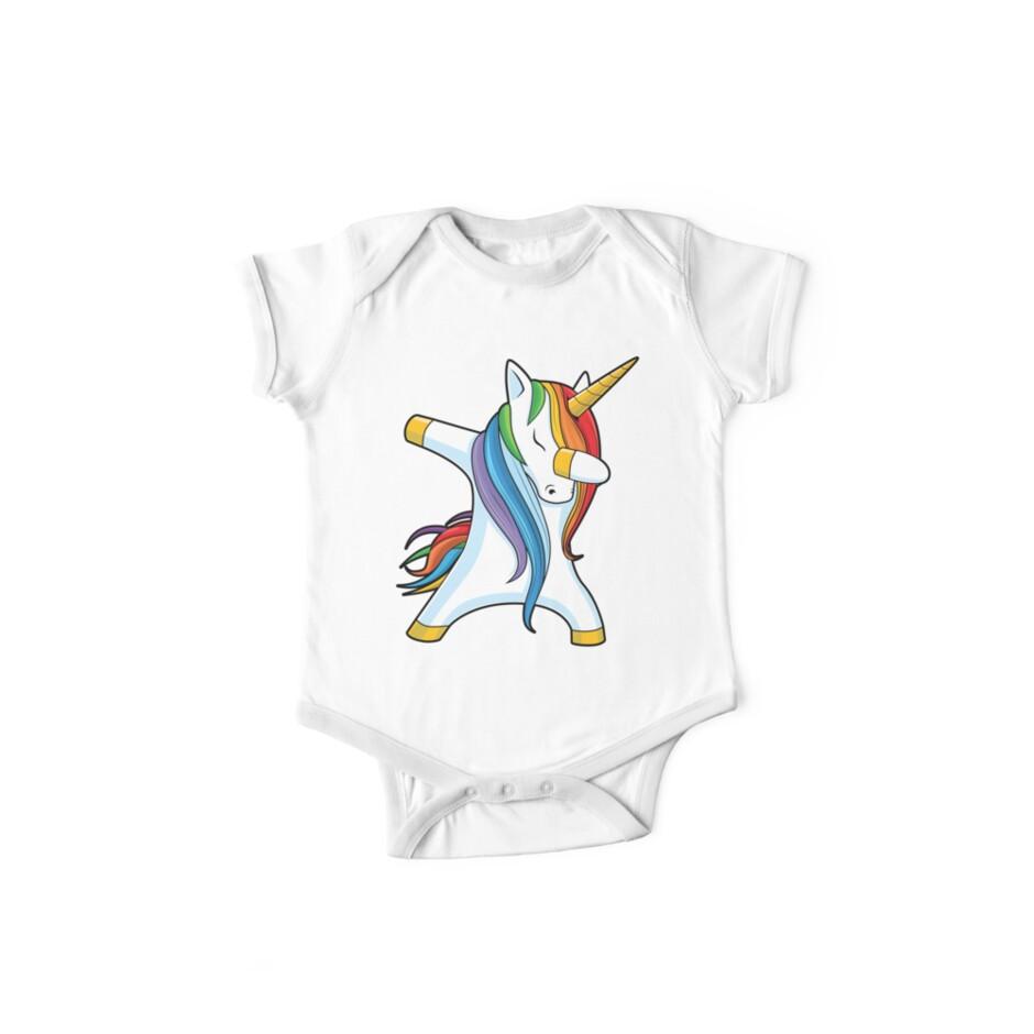 Dabbing Unicorn Shirt Cute Funny Unicorns T shirt Gifts for Kids Girls Boys Women Men by LiqueGifts