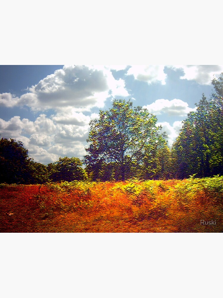 Autumnal Visions I by Ruski