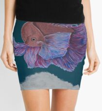 Bullet with Butterfly Wings Mini Skirt